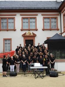 Open Air zum 90.jährigen Bestehen des Kreischorverbands Dieburg - Flame